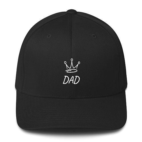King Dad Structured Twill Cap
