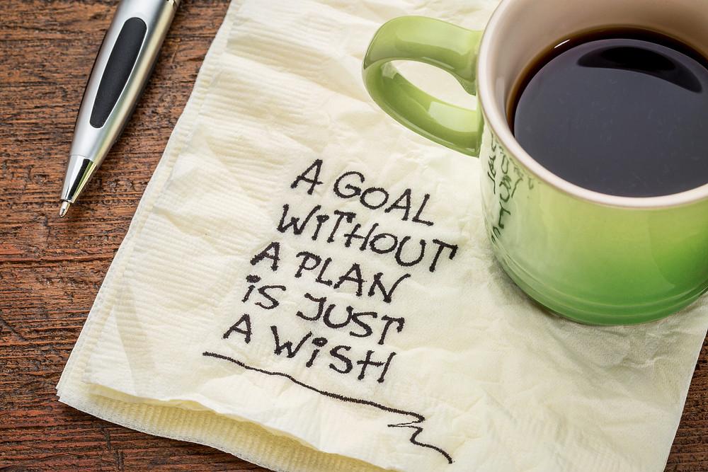set a clear content goal