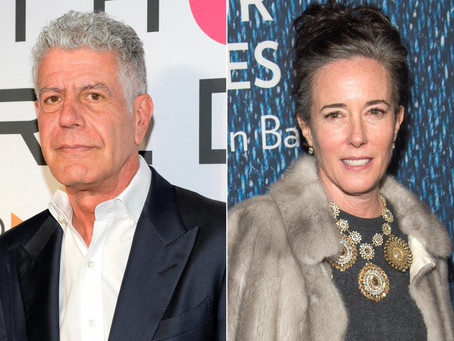 The Problem with Being Great: the Lesson in the Suicides of Kate Spade and Anthony Bourdain