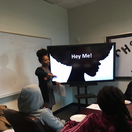 Speaking to the Girls at Carver High School: Hello, My Name is Qeen