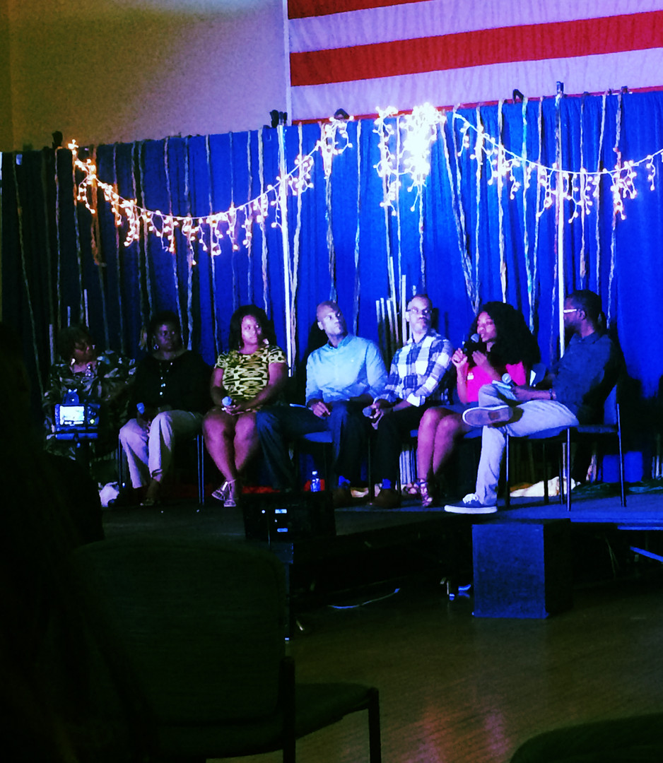 Speaking on a Panel for a 2016 Juneteenth Celebration