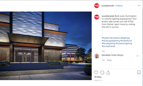 Acuity Brands Instagram Post