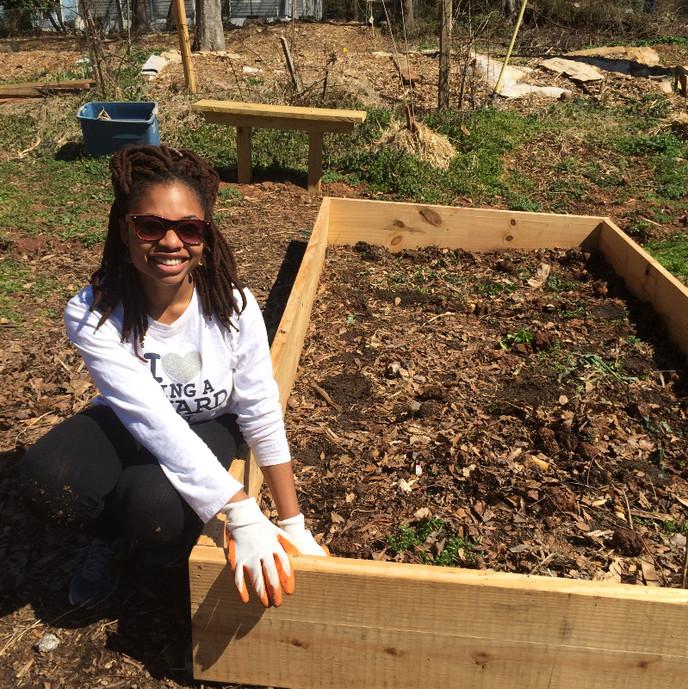 Supporting Hands on Atlanta: Westside Community Garden