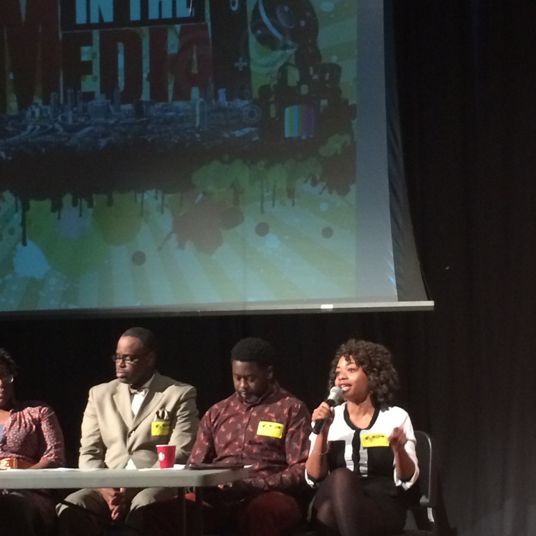 Hip-Hop Gives Back: Speaking at the annual minority and the media event