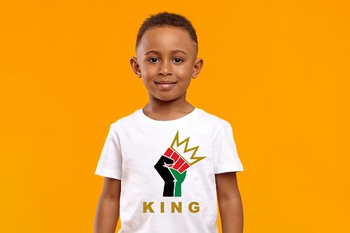 Kids I Am King T-shirt