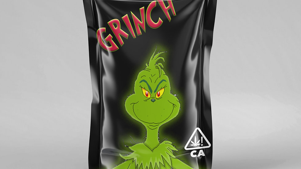 Grinch Stock Bags
