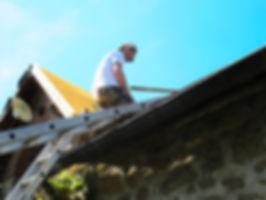 Twan van Houts la cheville dak werkzaamheden elektra Morvan