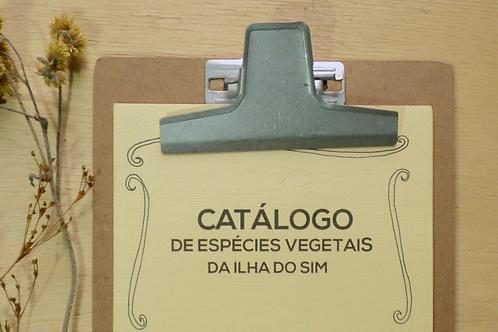 catálogo de espécies vegetais da ilha do sim