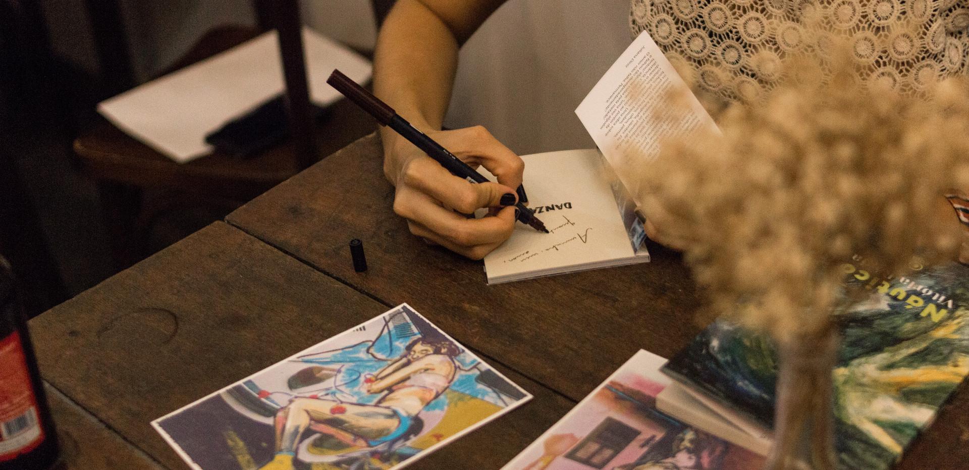 Lançamento do livro DANZA, Raisa Chistina & Nahuel Martínez Souto
