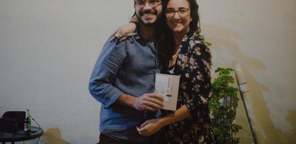 Lançamento do livro QUASE, Isabela Bosi