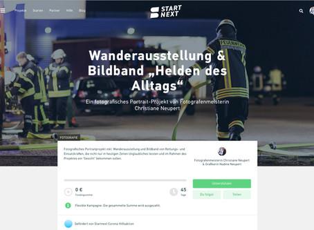 Crowdfunding-Kampagne auf StartNext