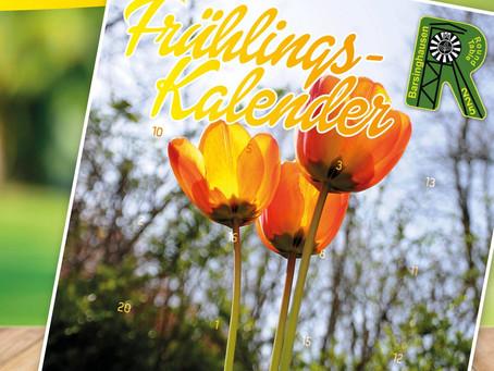 Mit dem Frühlingskalender des Round Table Barsinghausen zum Fotoshooting