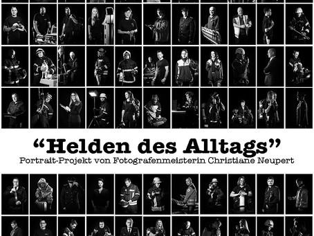 "Aktueller Stand des Projektes ""Helden des Alltags"""