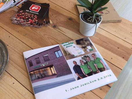 Jubiläums-Reportage als Buch