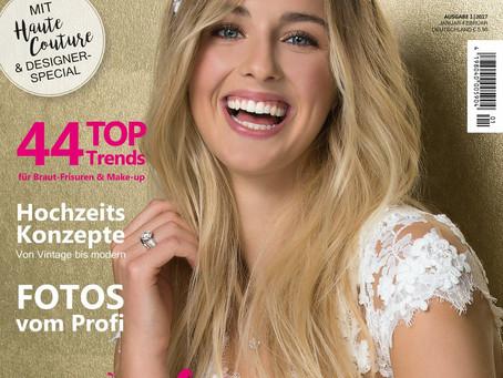 """Veröffentlichung im Magazin """"Hochzeit"""""""