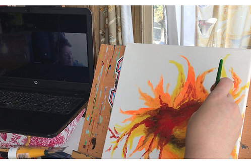 Artchemize Session with Digital Artwork