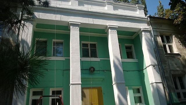 Реставрация фасада.