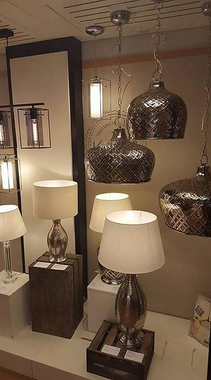 Noen av våre lamper.