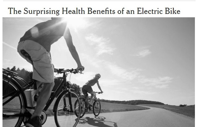 Health Benefits of an Electric Bike
