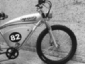 Caferacer E-bike front wheel