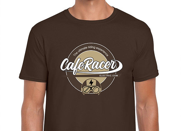 Next  Limited Edition Cafe Racer Electric Brown T-Shirt Limited Edition Cafe Rac
