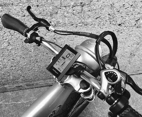 CafeRacer E-bike LED display