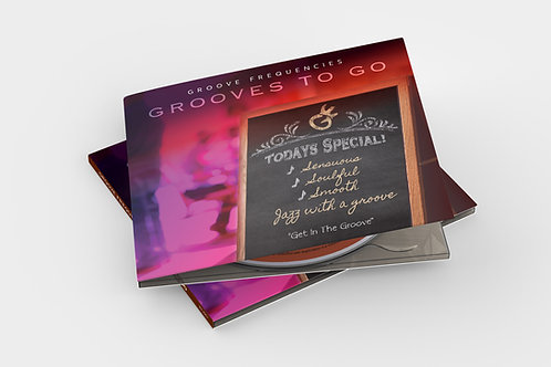 Grooves to Go - Physical CD