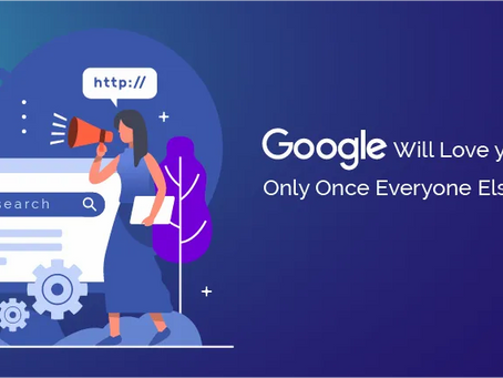 Google can only love you if everyone else likes you!