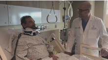 Local Army veteran gets life-changing surgery in New York after 18 years of pain