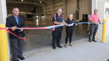 Castle Aviation cuts ribbon on new hangar, offices