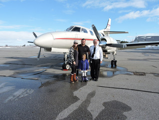 Business Aviation Growth Means Jobs and the Ability to Give Back