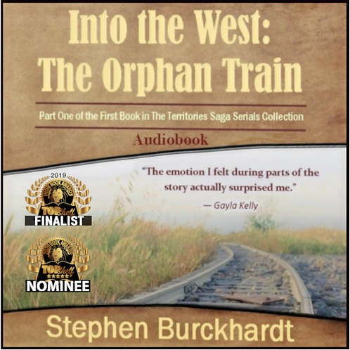 Into the West: The Orphan Train - Audiobook