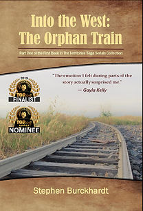 ITW The Orphan Train ebook cover with aw