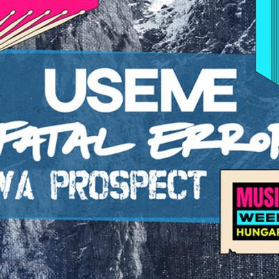 MTV Music Week: USEME + Fatal Error + Nova Prospect // Ápoló Klub, Kecskemét