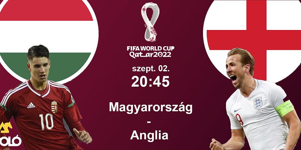 Magyarország - Anglia / VB-selejtező // Ápoló Klub