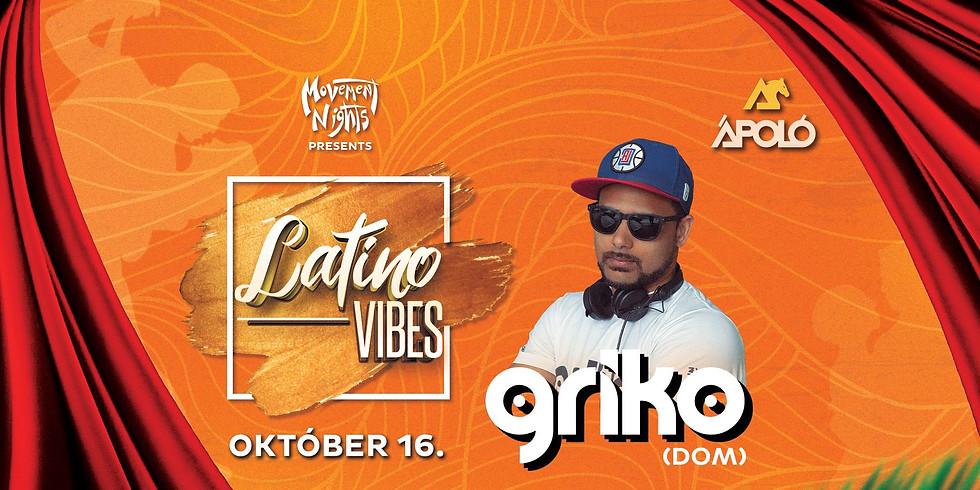 LATIN PARTY • Griko [DOM] • Movement Nights - Ápoló Klub