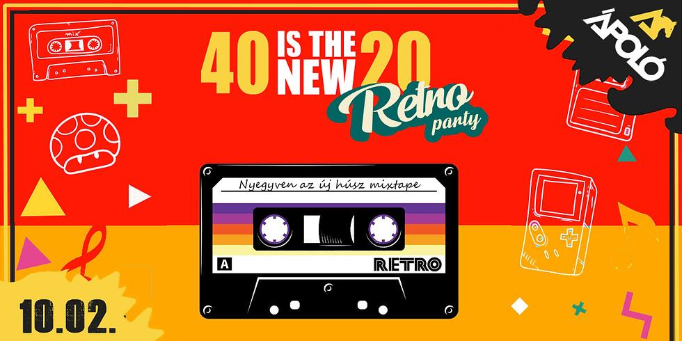 Retro Party / Kecskemét / Ápoló Klub