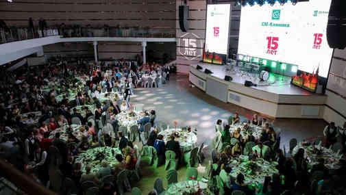 Шоу-открытие 15-летнего Юбилея Компании