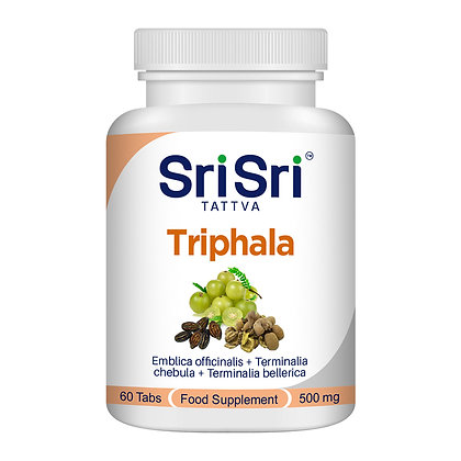 Triphala Tablets - Tridosha Balancer