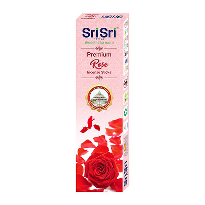 Premium Rose Incense Sticks