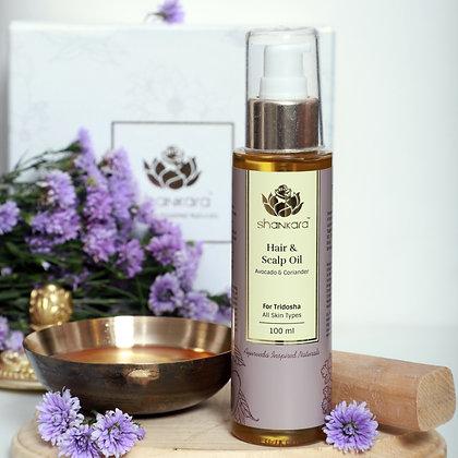 Shankara Hair & Scalp Oil (100ml)