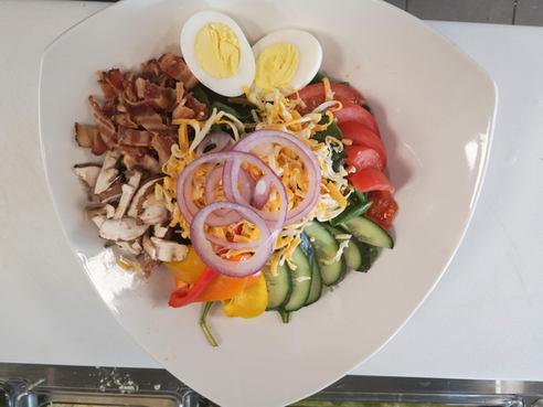 Delicious fresh salads