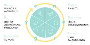 ENERGY hyvinvoinnin malli - Gymstick Wellbeing
