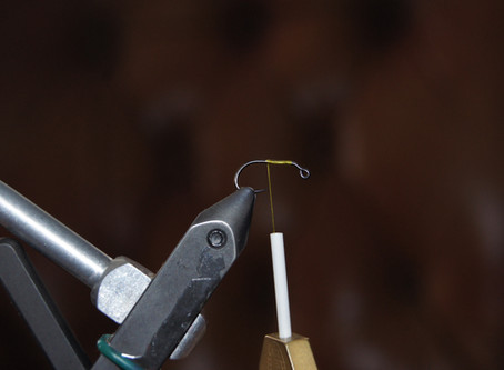 Fly Tying: Balanced Ruby Eyed Leech