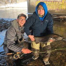 Fly Fishing Salmon River NY