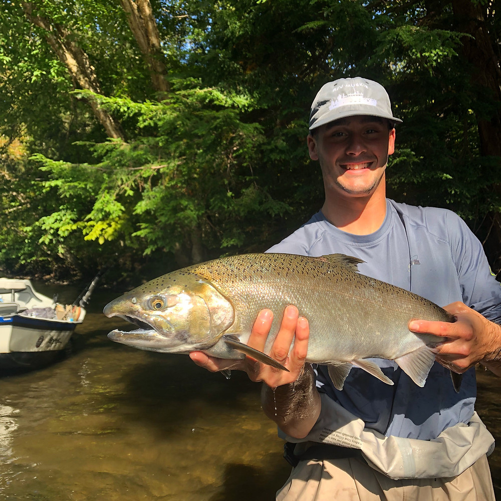 Salmon River Fishing Guide NY