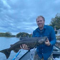 Salmon River Drift Boat King Salmon