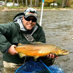 Fly Fishing Lake Ontario Brown Trout