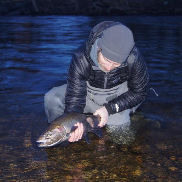 Salmon River Fly Fishing Guide Pulaski NY