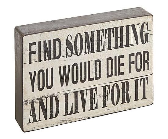 votre raison de vivre
